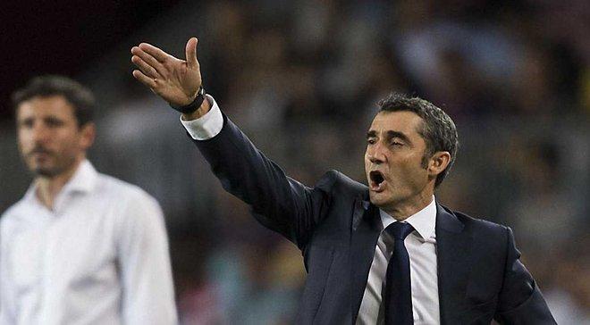 Вальверде в Барселоні зазнав менше поразок після 65 матчів, ніж Енріке та Гвардіола
