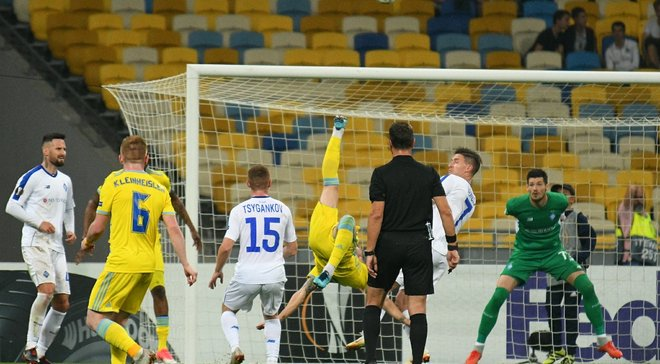 Головні новини футболу 20 вересня: Динамо і Ворскла взяли очко на двох в ЛЄ, Хацкевич коментує можливість відставки