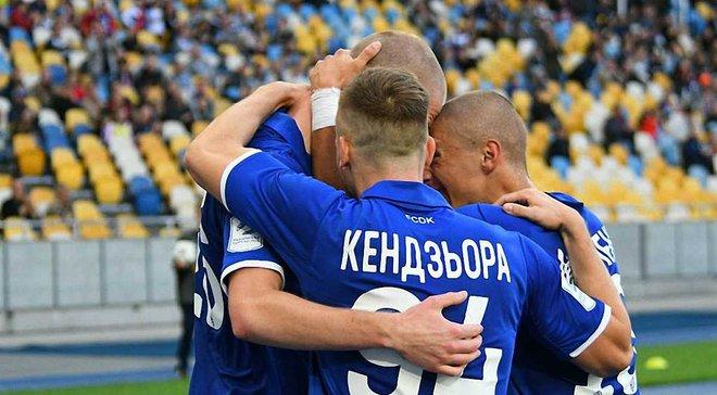 Динамо разгромило Десну, прервав шестиматчевую безпобедную серию