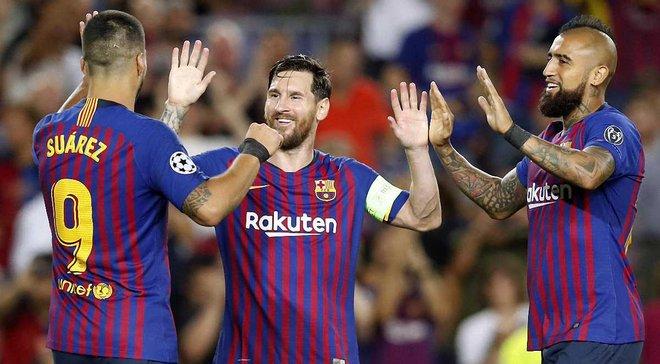 Космічна комбінація Барселони – 21 передача, після яких Мессі забив ПСВ