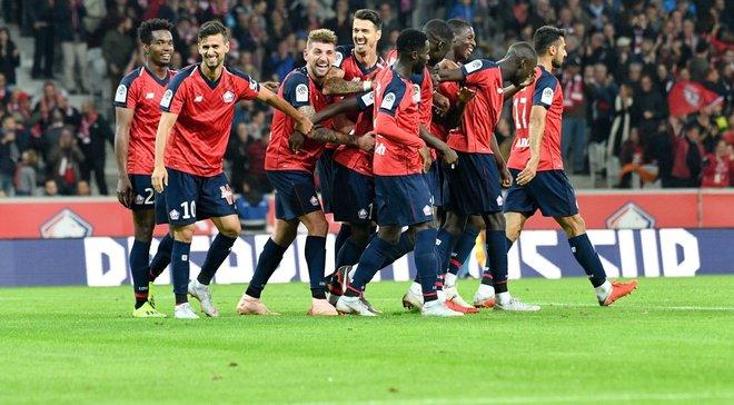 Лига 1: Лилль удержал второе место, обыграв Нант, Ницца уступила Монпелье