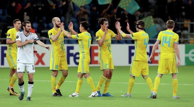 Астана после ничьей с Динамо обыграла Акжайык с украинцами