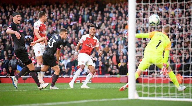 Арсенал уверенно обыграл Эвертон