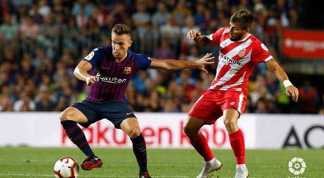Барселона сенсаційно втратила очки у дербі проти Жирони