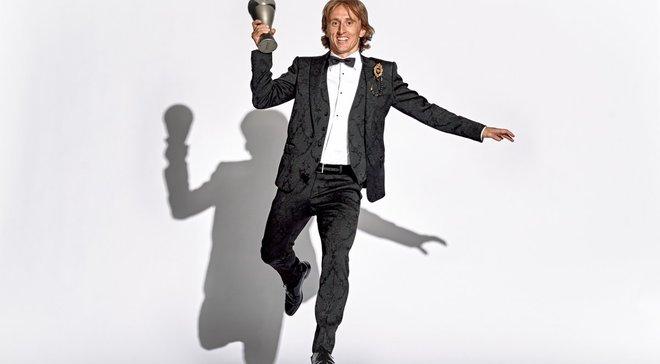 Модрич – лучший игрок года по версии ФИФА