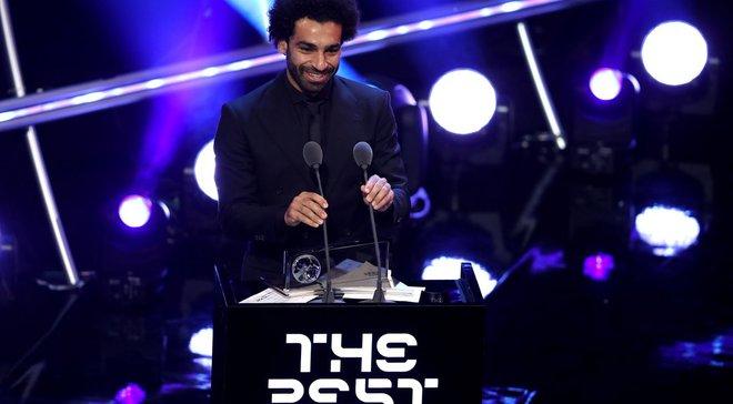 Салах стал автором лучшего гола 2018 года по версии ФИФА
