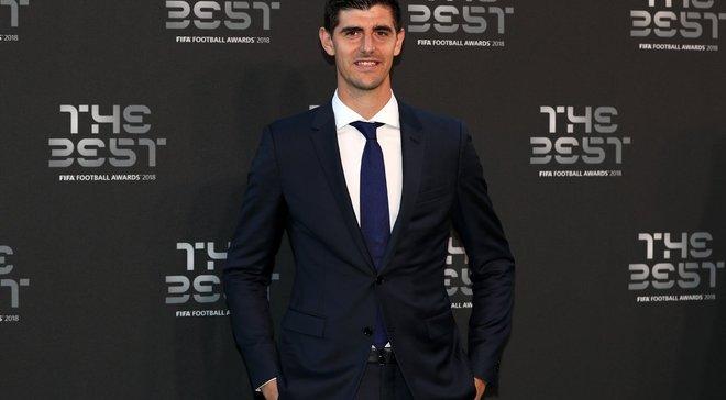 Куртуа – найкращий голкіпер року за версією ФІФА