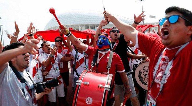 Фанаты сборной Перу были признаны лучшими в 2018 году по версии ФИФА
