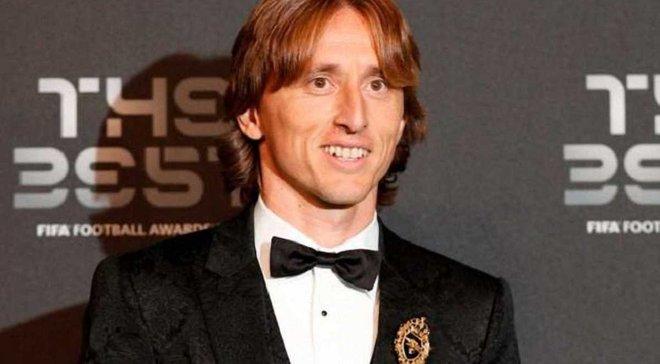 Модрич прокомментировал получение награды лучшему игроку года