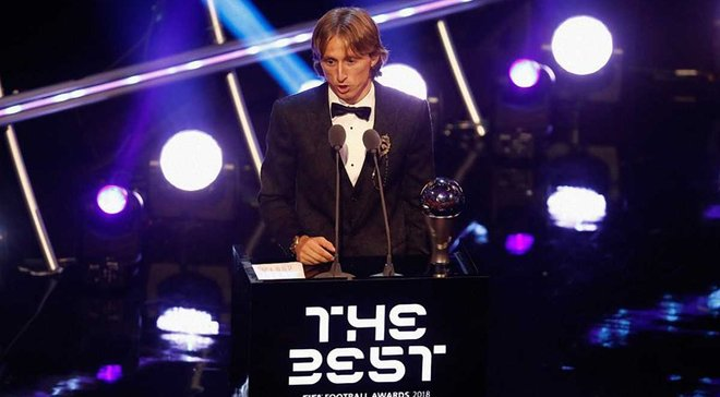 Модріч випередив Роналду на 10% в голосуванні за найкращого гравця року – Мессі лише 5-й