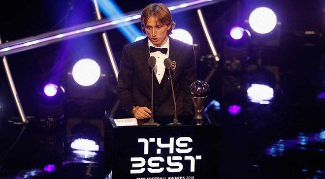 Модрич опередил Роналду на 10% в голосовании за лучшего игрока года – Месси лишь 5-й