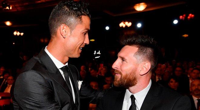 Мессі вперше проголосував за Роналду при виборі найкращого гравця року ФІФА