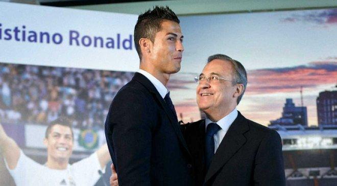 """Роналду ще повернеться в Реал"", – Перес сумує за португальцем"