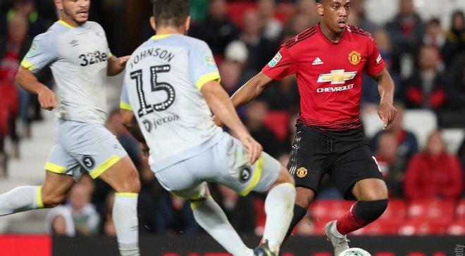 Кубок англійської Ліги: Манчестер Юнайтед сенсаційно поступився Дербі Каунті Лемпарда в серії пенальті