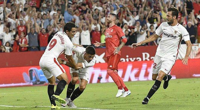 Севилья – Реал – 3:0 – видео голов и обзор матча