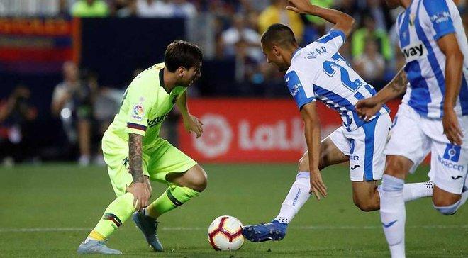 Барселона сенсационно уступила Леганесу, который совершил фантастический камбэк за 2 минуты