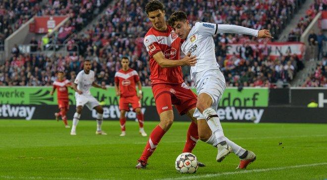 Байєр на виїзді переміг Фортуну: 5-й тур Бундесліги, матчі середи