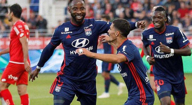 Лига 1: Лион разбил Дижон на выезде, соперник Динамо Ренн не справился с Амьеном
