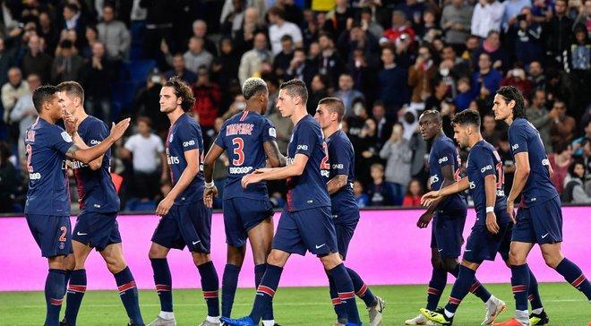 Лига 1: ПСЖ легко разгромил Реймс