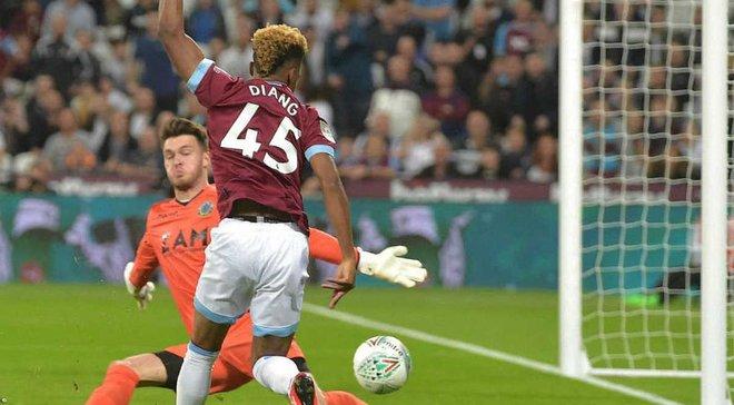 Кубок английской лиги: Вест Хэм без Ярмоленко забил 8 голов Маклсфилду, разные победы Арсенала и Тоттенхэма
