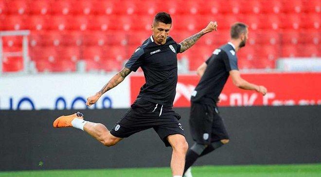 Хачеріді отримав травму під час матчу Кубка Греції між ПАОКом та Арісом