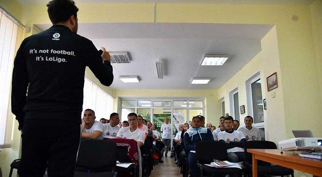 50 тренерів та методика Атлетіко: в Маріуполі стартував проект Шахтаря та Ла Ліги