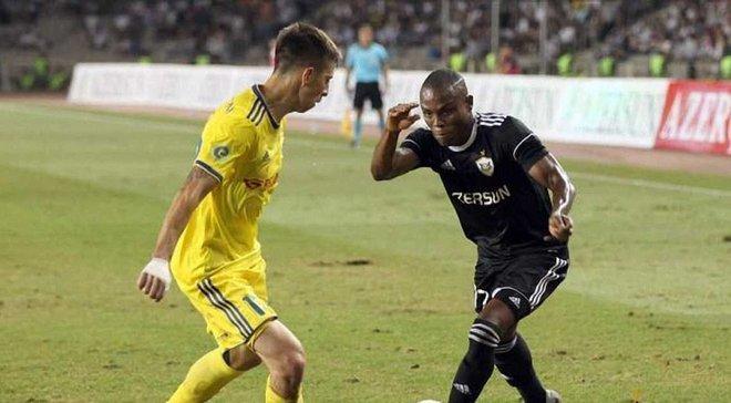 Карабах – Ворскла: полузащитник азербайджанцев Герье травмировался и может не сыграть в матче Лиги Европы