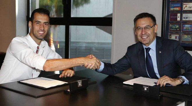 Бускетс подписал новый контракт с Барселоной – клуб указал невероятную клаусулу