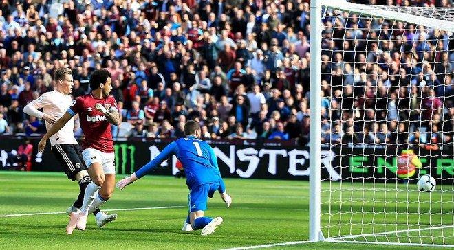 Вест Хем – Манчестер Юнайтед – 3:1 – відео голів та огляд матчу