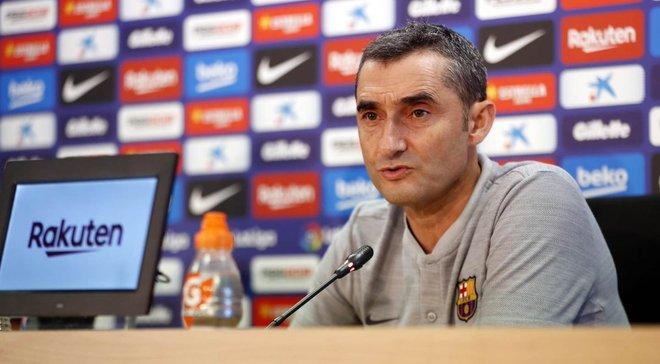Вальверде: Не маю жодних сумнівів у професійному ставленні до гри з боку футболістів Барселони