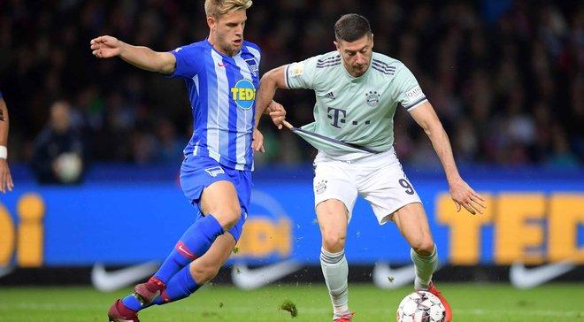 Герта – Бавария – 2:0 – видео голов и обзор матча