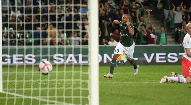 Сент-Этьен – Монако – 2:0 – видео голов и обзор матча