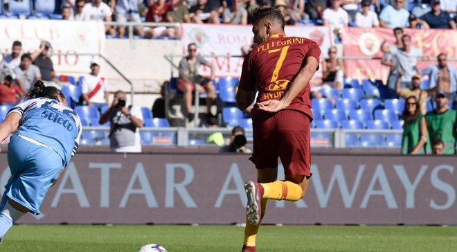 Рома уверенно победила Лацио в римском дерби