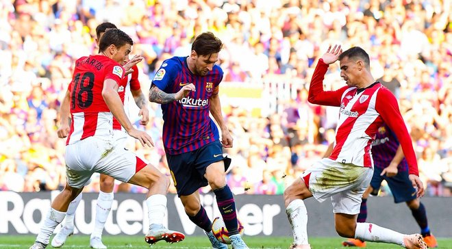 Барселона врятувалась від ганьби у матчі з Атлетіком, але втретє поспіль втратила очки у Прімері