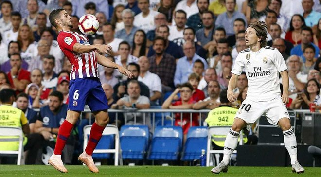 Реал и Атлетико расписали безголевую ничью в мадридском дерби