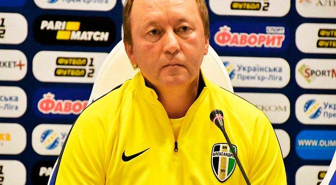 Шаран: Хотелось бы больше игроков Александрии в сборной Украины