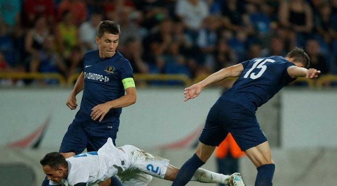 Первая лига: СК Днепр-1 разобрался с Балканами и остался на вершине таблицы