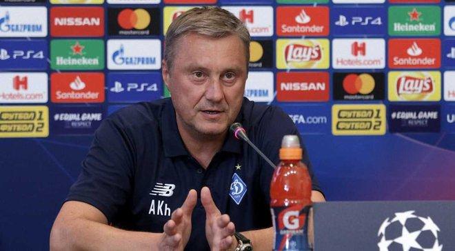 Хацкевич пояснив, чому Динамо не змогло підписати форварда під час літнього трансферного вікна