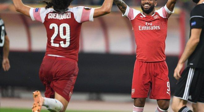 Карабах – Арсенал – 0:3 – відео голів та огляд матчу