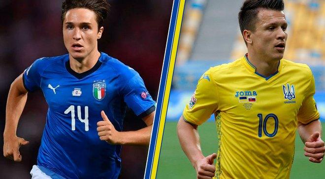 Італія – Україна: анонс товариського матчу