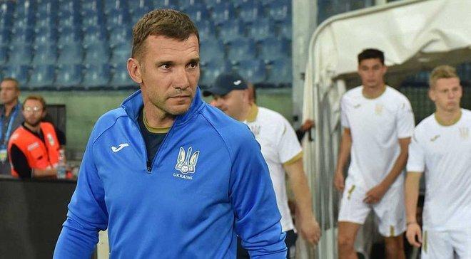 Шевченко посоромив Караваєва на тренуванні збірної України