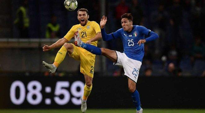 Италия – Украина – 1:1 – видео голов и обзор матча