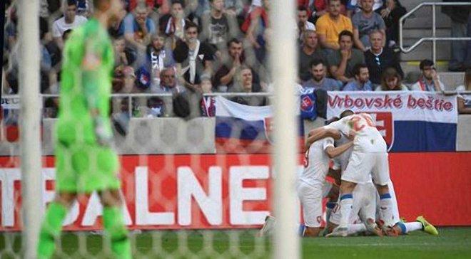 Словакия – Чехия – 1:2 – видео голов и обзор матча