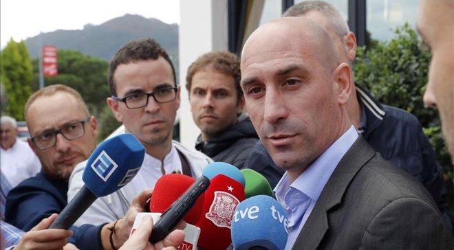 С Пересом имею те отношения, которых никогда не будет с Тебасом, – президент Федерации футбола Испании