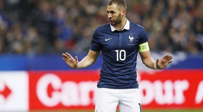 Бензема відповів на критику від президента Федерації футболу Франції