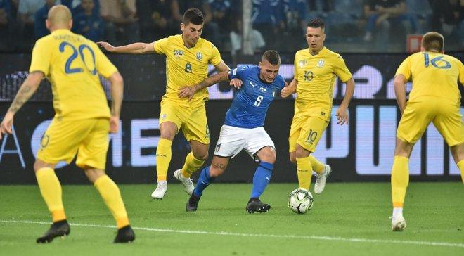 Гимн от Ракицкого>гимн от итальянцев, или Нас возила сборная, выпавшая из топ: реакция соцсетей на матч Италия – Украина