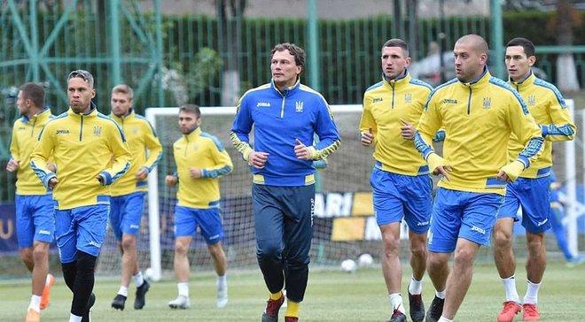 Сборная Украины прилетела в Харьков после матча с Италией