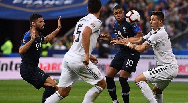 Франция – Германия – 2:1 – видео голов и обзор матча