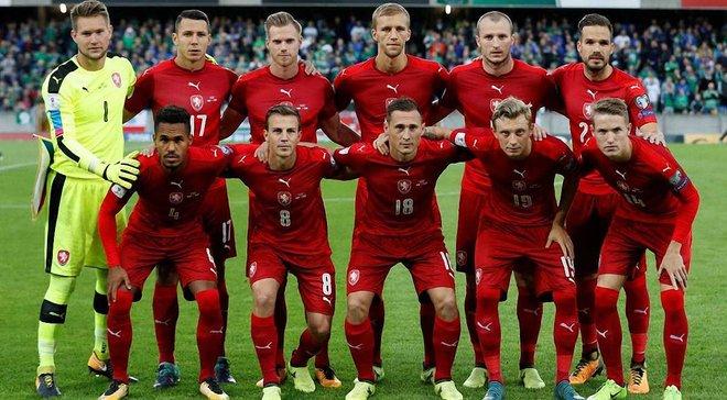 Україна – Чехія: 5 гравців чеської збірної пропустять матч Ліги націй