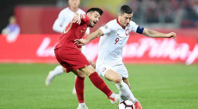 Лига Наций: Португалия одержала волевую победу над Польшей